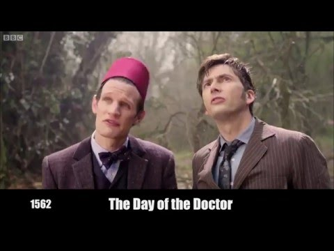 'Doctor Who' In Historical Chronological Order -  SPOILERS