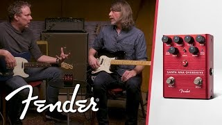 The Santa Ana Overdrive   Effect Pedals   Fender