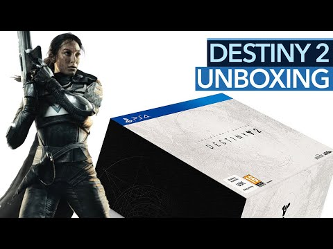 Unboxing Destiny 2 - Wo sind Spiel und Season Pass der Collector's Edition?