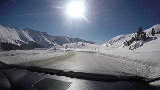 From Loveland to A Basin Over Loveland Pass