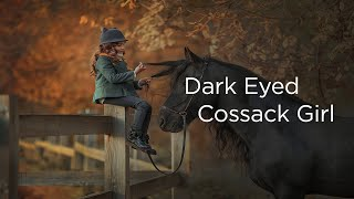 Dark-Eyed Cossack Girl With Russian, English and Indonesian Subtitle