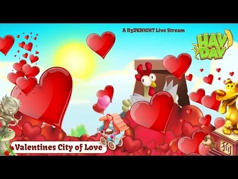 Hay Day Live Stream - Valentines City of Love