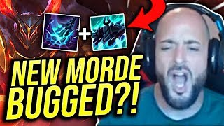 IS THIS NEW MORDE ABILITY BUGGED OR BROKEN?! RIOT FIX THIS! - Road To Challenger | League of Legends