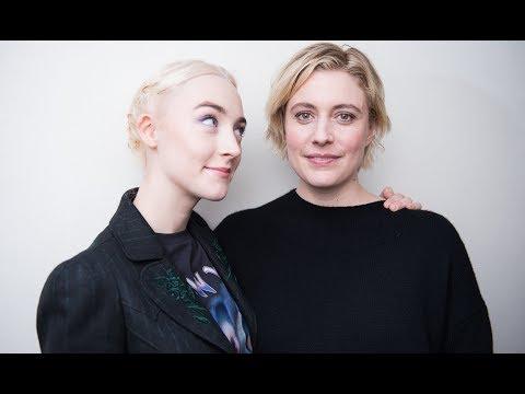 TimesTalks   Greta Gerwig and Saoirse Ronan