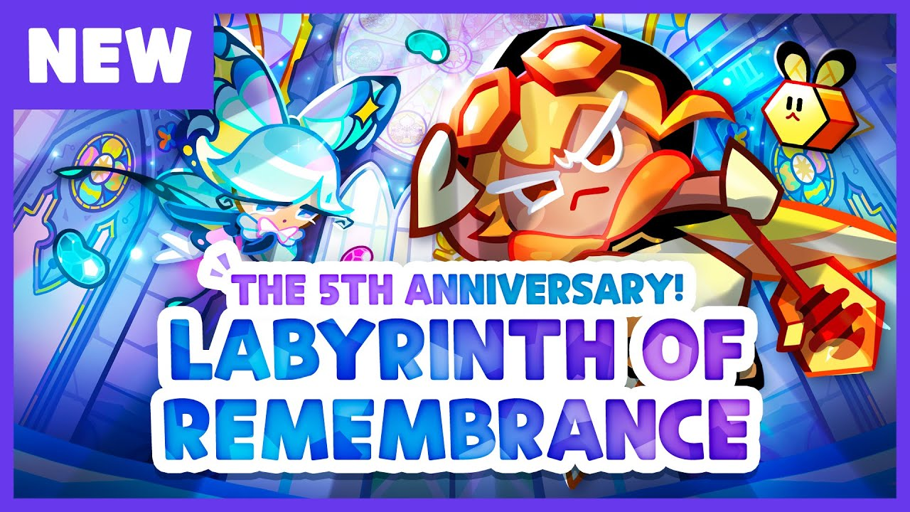 COOKIE RUN 5TH ANNIVERSARY UPDATE PREVIEW (ft. Exclusive Jelly Shapes Coupon)