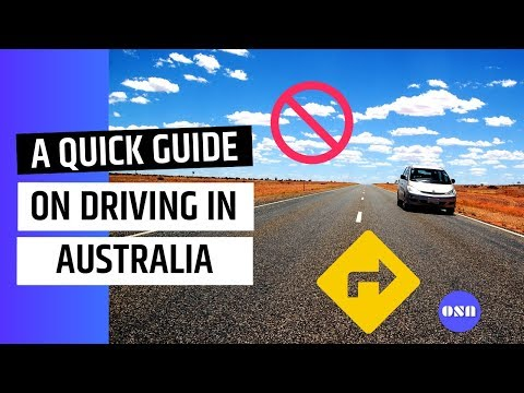 A Quick Guide On Driving In Australia For Overseas Students