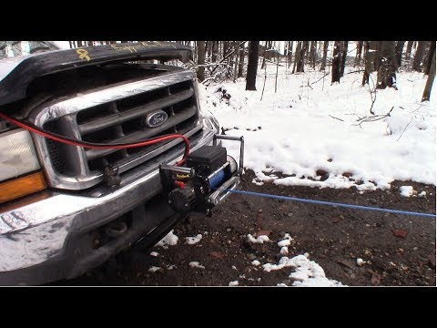 Trying out the X-Bull 13,000 pound winch