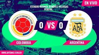 Colombia vs Argentina EN VIVO | Torneo Preolímpico