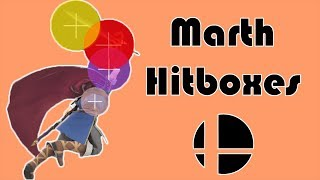 Going Over Marth's Hitboxes | Smash Ultimate