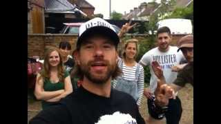 Behind the scenes with the DJ BBQ/Food Tube crew for the Radelicious Ribs Recipe