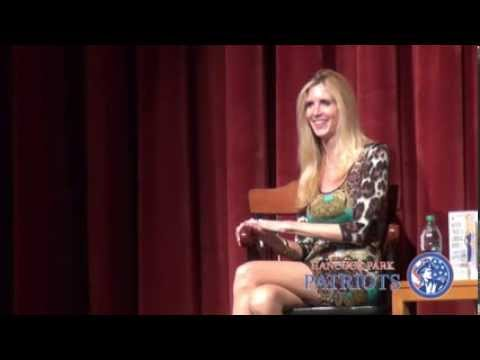 "Ann Coulter on ""Never Trust a Liberal Over 3"" @ Hancock Park Patriots & USC College Republicans"