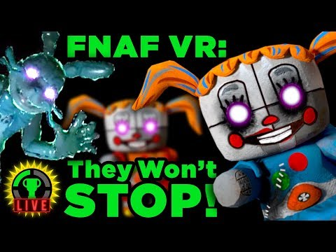 FNAF VR - You Don't Scare Me! | Five Nights At Freddy's VR: Help Wanted (Part 7)
