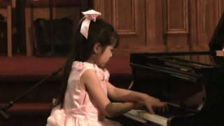 Umi Garrett (age 9)-- Mendelssohn  Spinning Song