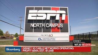 ESPN Drags Down Disney's First-Quarter Sales