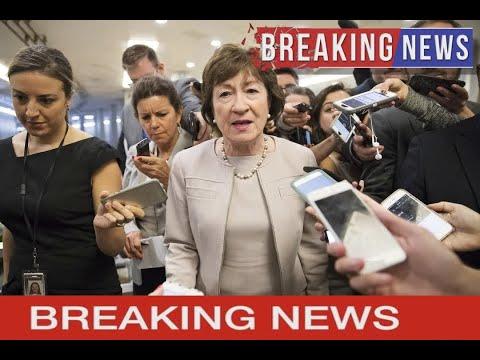 NBC NEWS - Sen. Susan Collins: Sexual misconduct allegations against Trump 'remain very disturbing'
