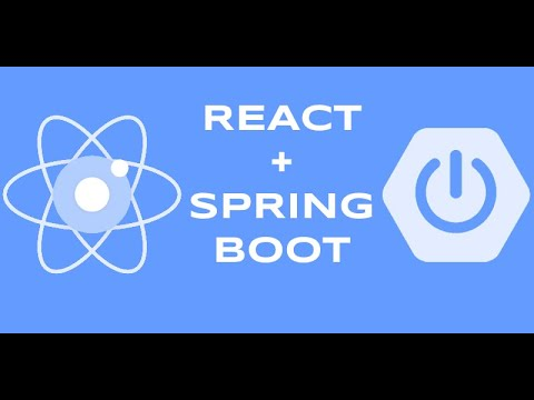 React Functional Component & Spring Boot Part 1 thumbnail
