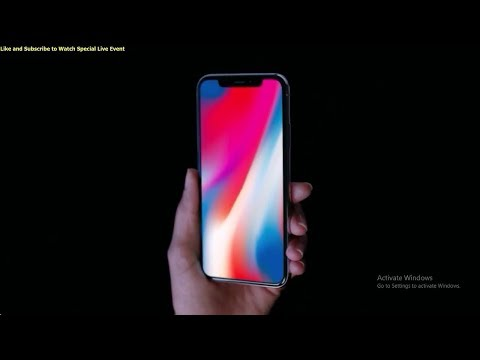 Download Youtube: Apple iPhone X Official Video