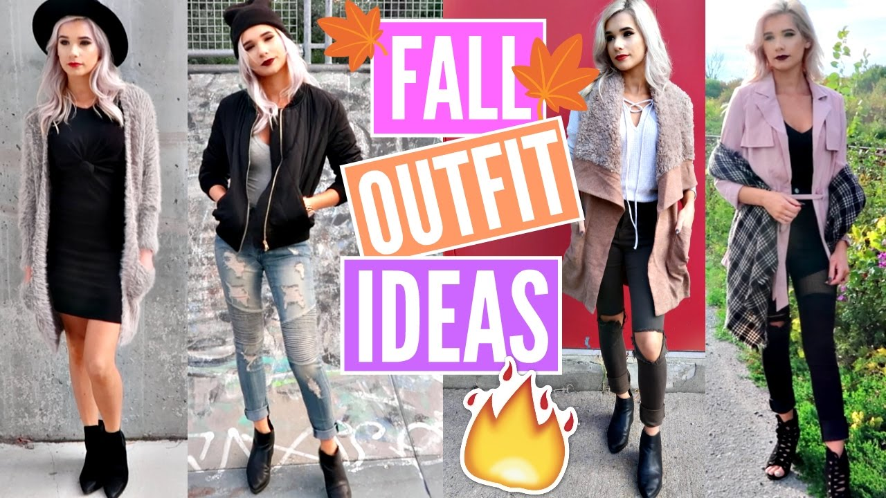 a3ab434d4b48e0 FALL OUTFIT IDEAS *AFFORDABLE*   NEW Fashion Trends Lookbook 2016