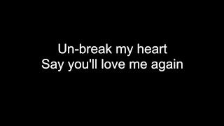 UN-BREAK MY HEART | HD with lyrics | TONI BRAXTON cover by Chris Landmark