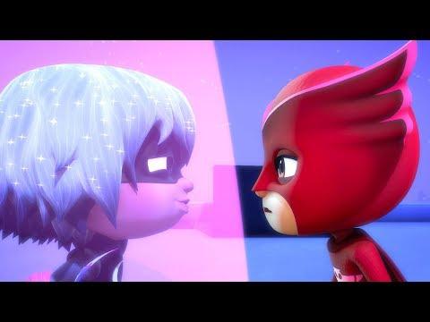 PJ Masks | PJ Masks Luna Girl traps Owlette | Luna Girl and the PJ Masks | Cartoons for Children