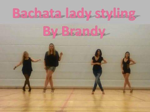 Bachata lady styling choreography by Brandy