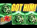 GOT HIM!!!!! RARE GREEN LION FREE GAMES! Slot Traveler