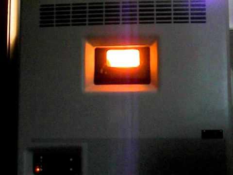 Eco-Aire 2400 window pellet Heater