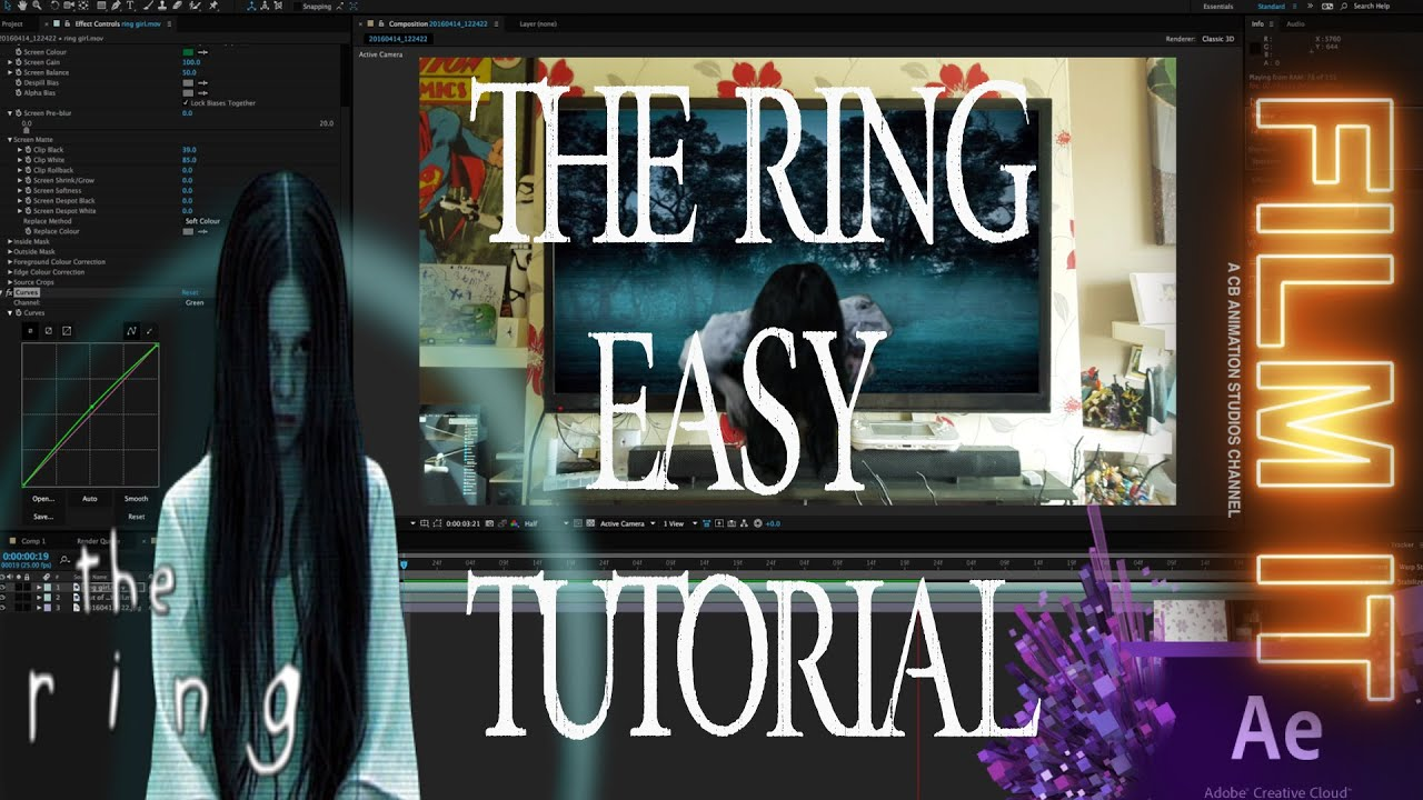 The Ring A Very Easy Tutorial After Effects Youtube