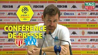 Conférence de presse AS Monaco - Olympique de Marseille ( 3-4 ) / 2019-20