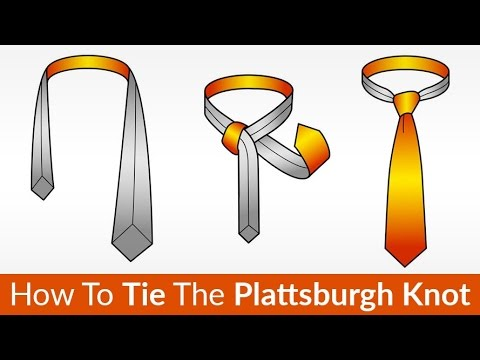 Perfect Knot For Spread Collar | How to Tie a Tie | The Plattsburgh Knot