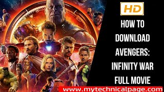 Download Avengers Infinity War 2018 Hindi ! Full HD 1080! Free