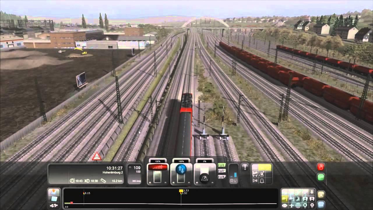 RailWorks 3 HDPCTRAIN SIMULATORGAMEPLAYSIMULADOR DE