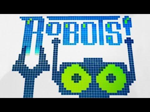 NNN Chapter 2 - Robots! (Funny LEGO Animation)