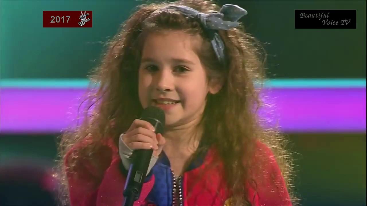 Elizaveta/Maria/Aksinia. 'На дискотеку'. The Voice Kids ...