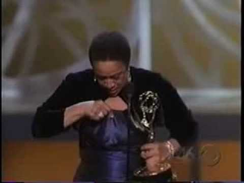 S. Epatha Merkerson wins 2005 Emmy Award for Lead Actress in a Miniseries or Movie