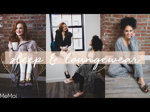Cute & Comfy Loungewear! Pajamas, slippers, loungewear sets & more   MeMoi