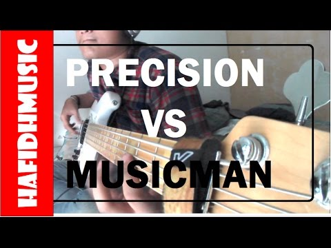 MUSICMAN STINGRAY VS PBASS! - HafidhMusic - Sire V7