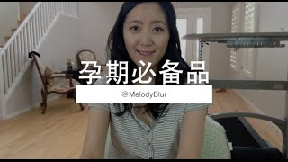 MelodyBlur-孕期必备产品 Pregnancy Must Haves
