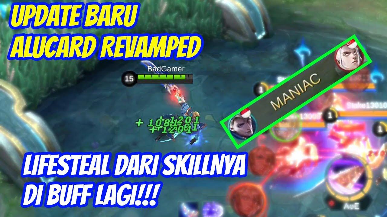 Update Baru Alucard Revamped!!! Di Buff Lagi Lifesteal Dari Skillnya Makin Banyak!!! BadGamer