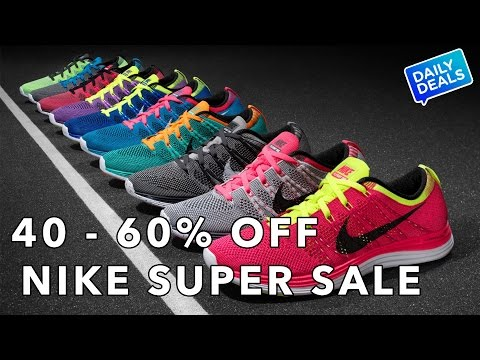 Giant Nike Sale: 40-60% Off - The Deal Guy