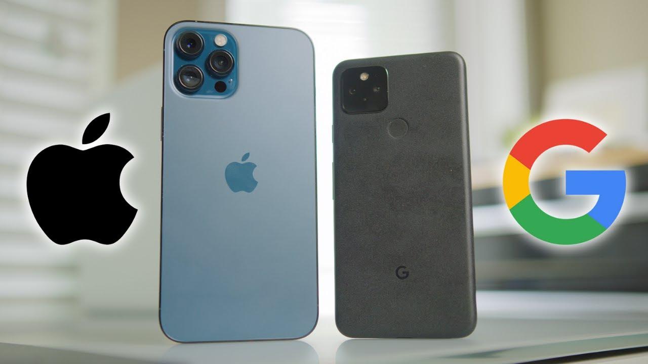 iPhone 12 Pro Max vs Google Pixel 5 Camera Test!