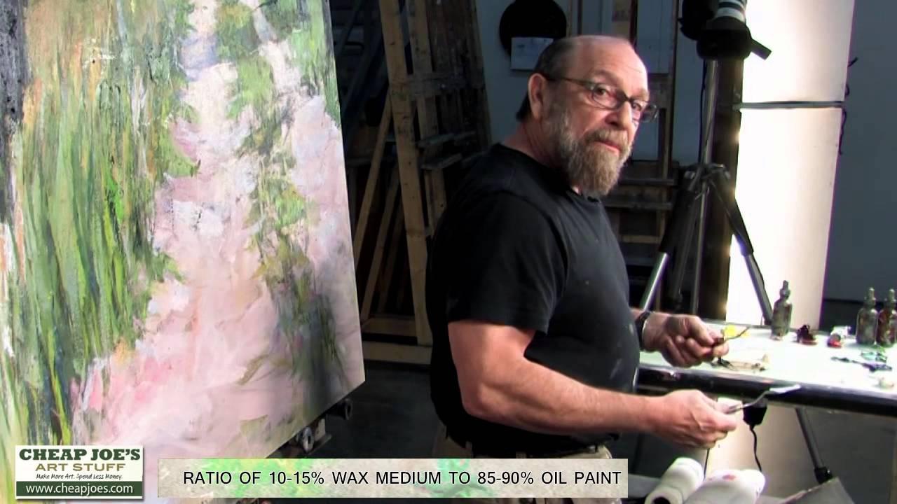 Joe For Oil >> Andy Braitman- Oil Class- Cold Wax Mediums - YouTube