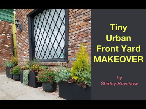 Tiny, Urban Front Yard Makeover