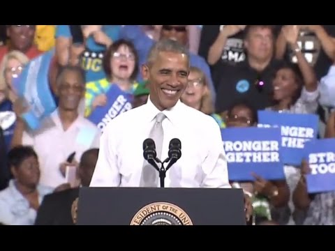 FULL SPEECH: Obama Campaigns for Hillary Clinton in Florida (10/28/2016)