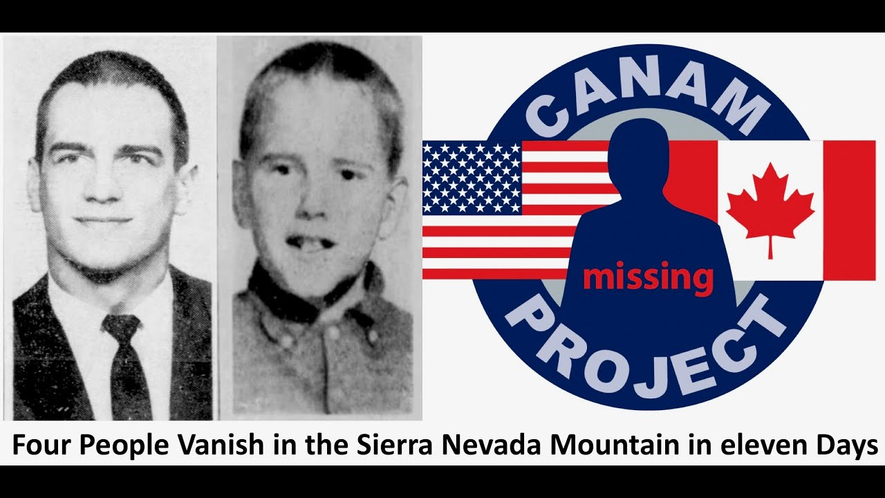 Missing 411- David Paulides Presents Four Missing People from Yosemite National Park in Eleven Days