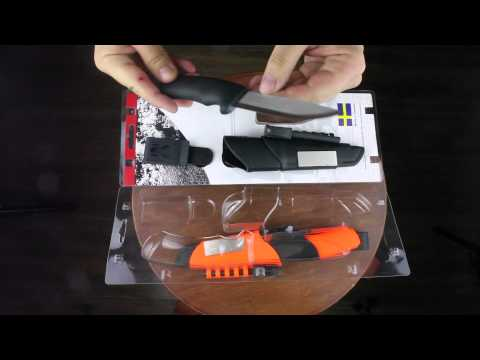 Краткий обзор ножа Mora Bushcraft Survival