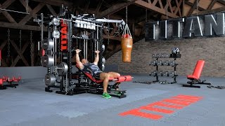 T1-X-4 - Smith Incline Bench Press