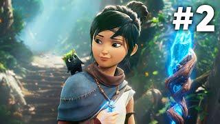 KENA BRIDGE OF SPIRITS Gameplay Walkthrough Part 2 - FORGOTTEN FOREST (PS5 4K 60fps)