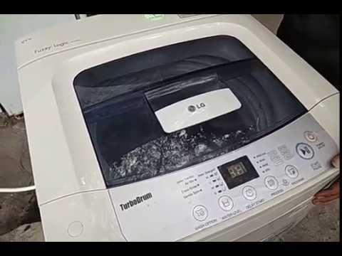 Trik mencuci dengan cepat memakai mesin cuci LG otomatis 1tabung