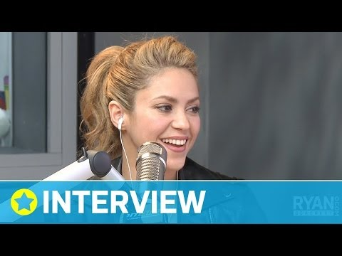 Shakira's Bond with Rihanna I Interview I On Air with Ryan Seacrest